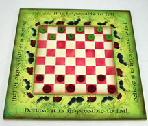 impossible to fail game board with pieces