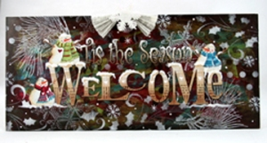 Tis the Season Welcome Board small lo res