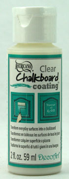 chalkboard coating