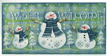 winter welcome plaid lo res