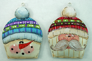 puffy ornaments